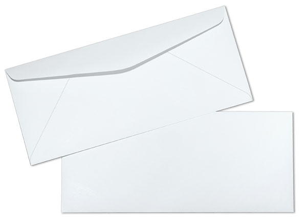 Lb White Wove Regular  Commercial Envelopes  Paoli Envelope